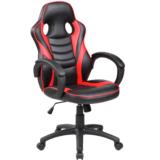 Scaun Gaming B99, negru/rosu