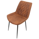 scaun bucatarie D12 brown