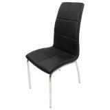 scaun bucatarie D14 neagra