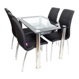 promotii-scaune.ro/Set de masa SM66D14 negru