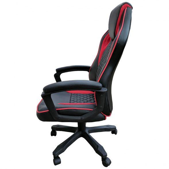scaun gaming Arka B107 negru rosu (3)