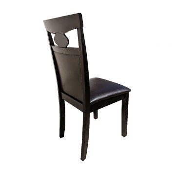 promotii scaune.ro/scaun bucatarie Zen 132 din lemn wenge/cappuccino