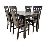 promotii-scaune.ro, Set de masa Zen SM79112 maro inchis 120x70x75 cm