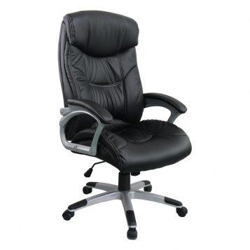 Scaun directorial Comodo B143, negru, Confort/promotii-scaune.ro