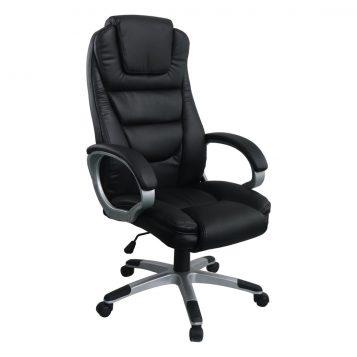 Scaun directorial Comodo B135, negru, Confort/promotii scaune.ro