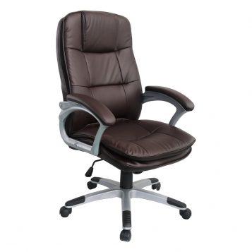 Scaun directorial Comodo Boss B137, maro inchis/promotii-scaune.ro