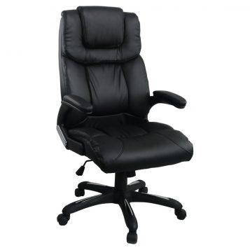 Scaun directorial Comodo Boss B138, negru/promotii-scaune.ro