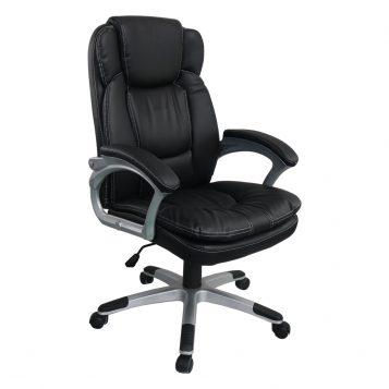 Scaun directorial Comodo B142, negru/promotii-scaune.ro