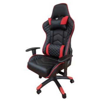 Scaun Gaming PowerRace B22 negru/ rosu150 Kg