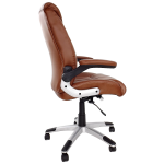 scaun birou B33, maro, picioare gri, zendeco-armonia casei tale (2)