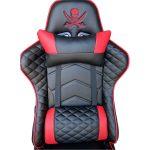 promotii scaune.ro/scaun gaming PowerRaceB22 negru rosu pirat