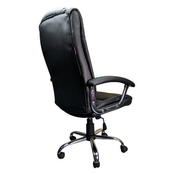 Scaun birou Zendeco B91, negru, piele ecologica