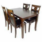 set de masa 79132 walnut