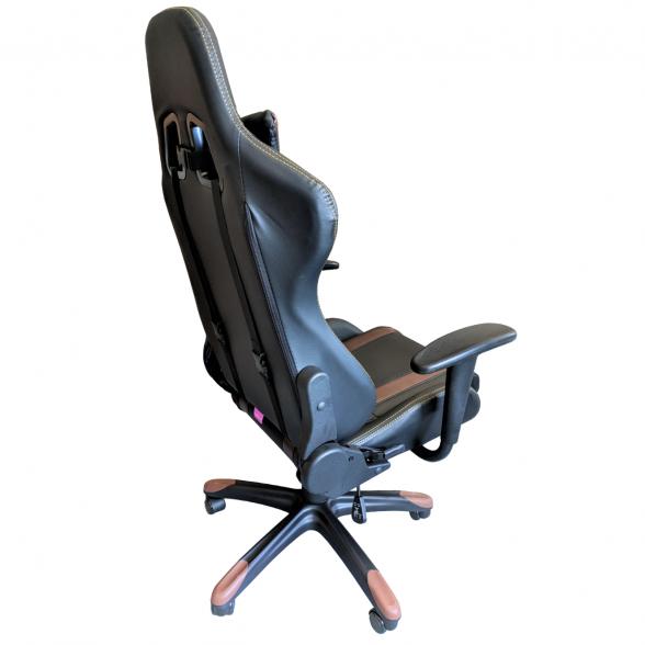 Scaun Gaming-birou- B24-Racing- V5- negru maro-zendeco (6)