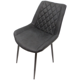 scaun bucatarie D12 black
