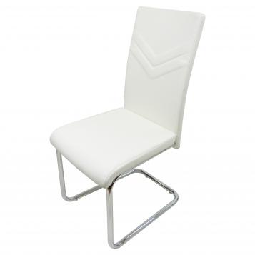 scaun bucatarie D15 alb