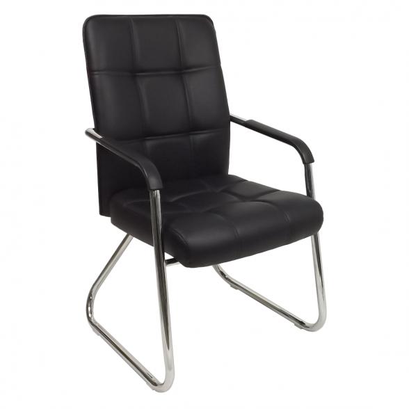 scaun vizitator y12 negru