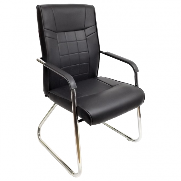 scaun vizitator y13 negru