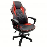 scaun gaming B107 negru si rosu