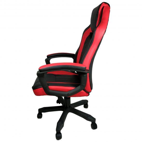 scaun gaming Arka B104 negru rosu