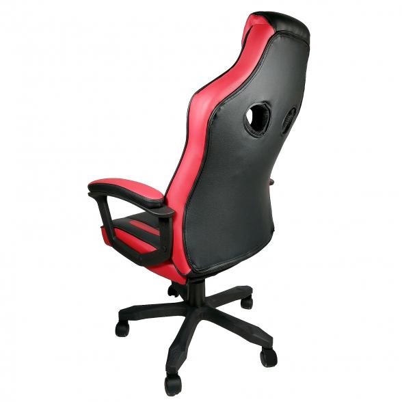 scaun birou Arka B104 negru rosu (2)