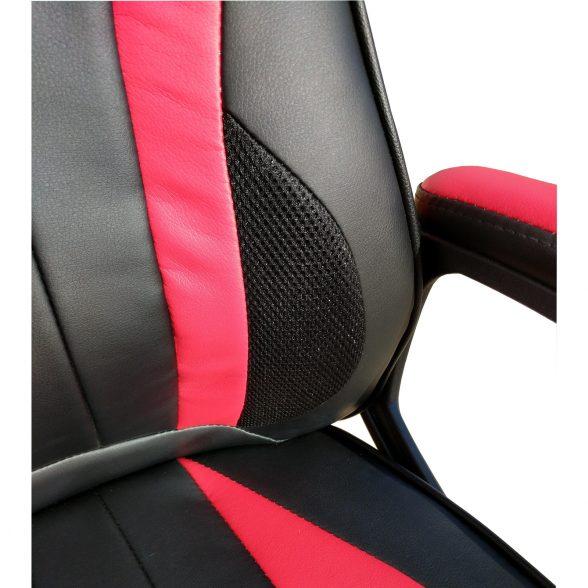 scaun birou Arka B104 negru rosu (6)