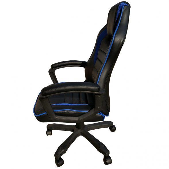 scaun birou B101 negru albastru (2)