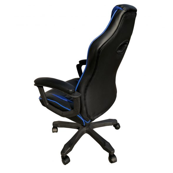scaun birou B101 negru albastru