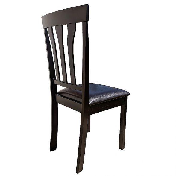 scaun de bucatarie Zen 121 din lemn wenge cappuccino (1)