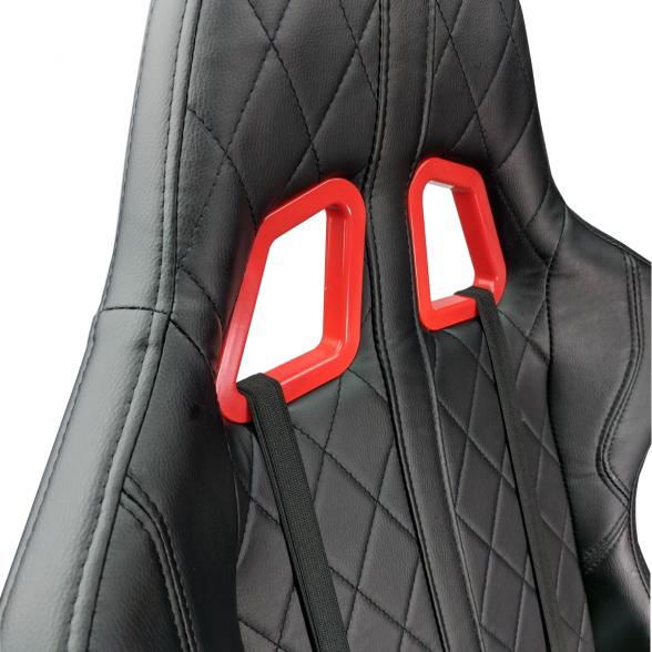 Scaun gaming Arka Aigle B52 rosu negru-zendeco.ro (6)