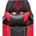 Promotii-scaune.ro/scaun gaming Arka Eagle B54 negru rosu (1)
