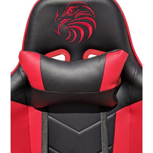 scaun gaming Arka Eagle B54 negru rosu (1)