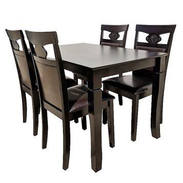 promotii scaune.ro/set de masa Zen 132 wenge cappuccino emag