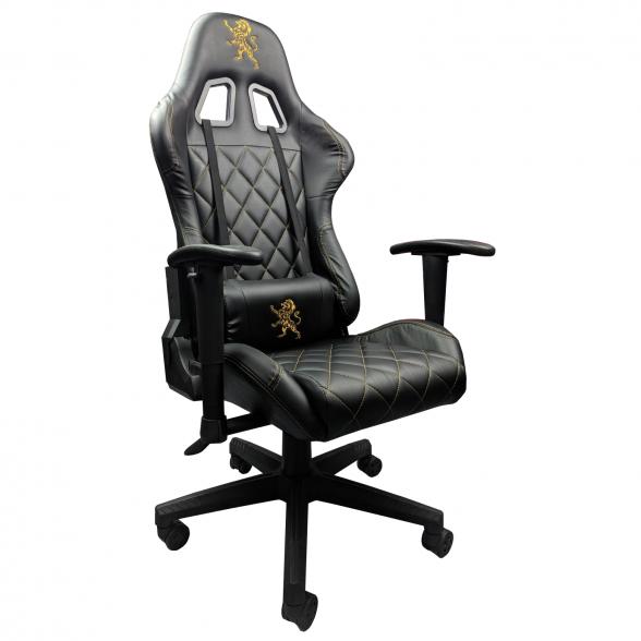 Scaun-gaming-Zendeco-Arka-B56-Leu-negru-auriu-zendeco.ro