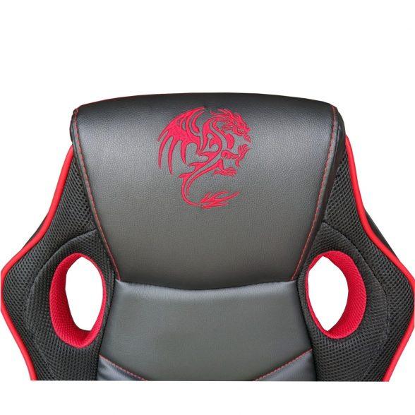promotii scaune.ro/Scaun-gaming-Skay-B19-Dragon-negru-rosu eyes (1)