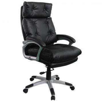 Scaun directorial Comodo B145, negru, confort extrem/promotii-scaune.ro
