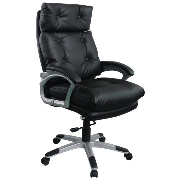 promotii-scaune.ro/Scaun directorial Comodo B145, negru,Confort extrem