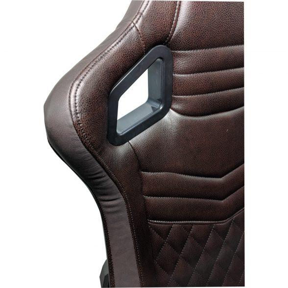 Zendeco.ro/Scaun Gaming Arka Luxury B146b brown brown (2)
