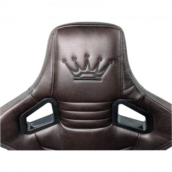Zendeco.ro/Scaun Gaming Arka Luxury B146b brown brown (7)
