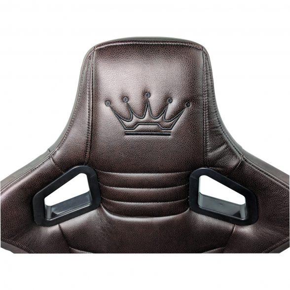 Zendeco.ro/Scaun Gaming Arka Luxury B146b brown brown (7)