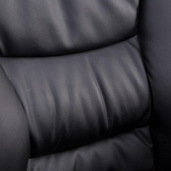 Zendeco.ro-Scaun directorial Comodo B126 negru,cu suport picioare, piele ecologica (4)