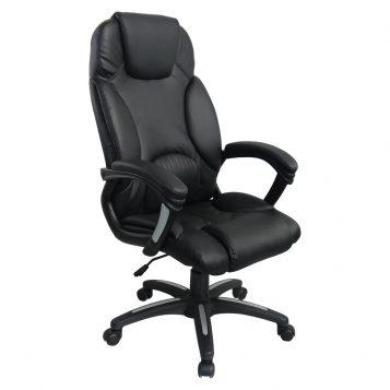 Scaun directorial Comodo Boss B136, negru/promotii-scaune.ro