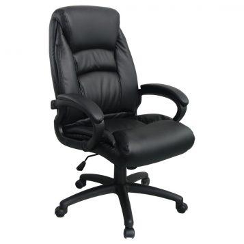Scaun directorial Comodo Boss B141, negru/promotii-scaune.ro
