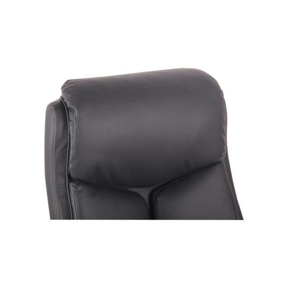 Zendeco.ro-Scaun ergonomic Zen B120 negur si cromat, piele ecologica (6)