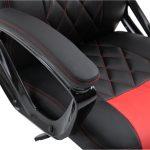 Zendeco.ro-Scaun gaming Arka B127,negru rosu, piele ecologica