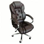 Promotii scaune.ro/scaun directorial Comodo B108 maro cu baza metal