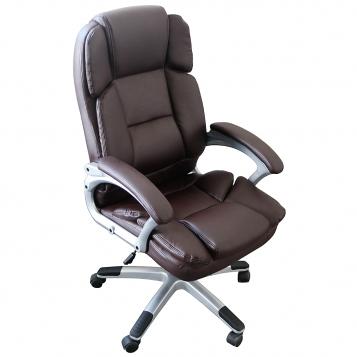 scaun directorial Skay B110 maro/promotii scaune.ro