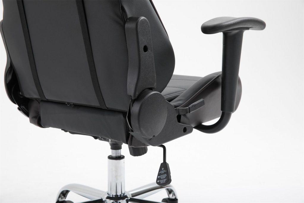 Scaun Gaming Arka B129 Pantera negru/maro cu baza cromata/promotii scaune.ro
