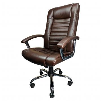 Scaun birou Zendeco B91, maro, piele ecologica/promotii scaune.ro