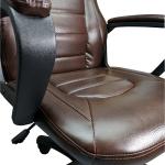Scaun gaming Zen B149 maro,piele ecologica perforata anti transpiratie (3)